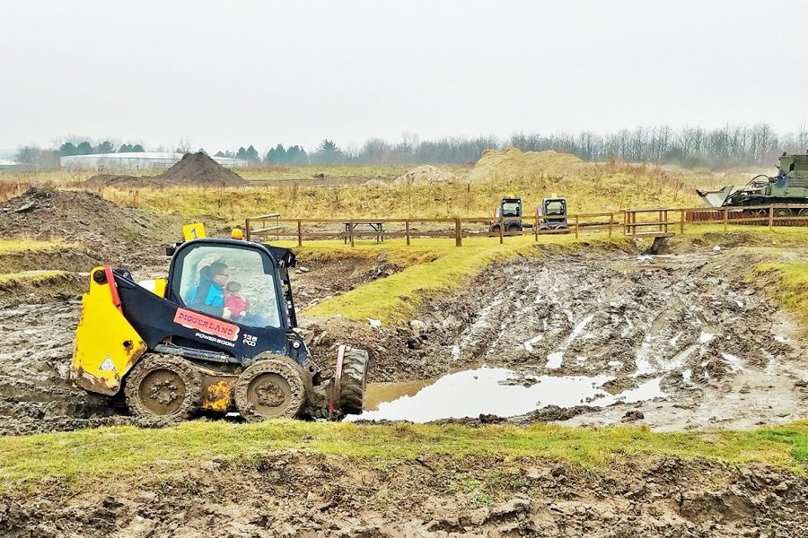 Diggerland - Image by Lucy at Home Blogger