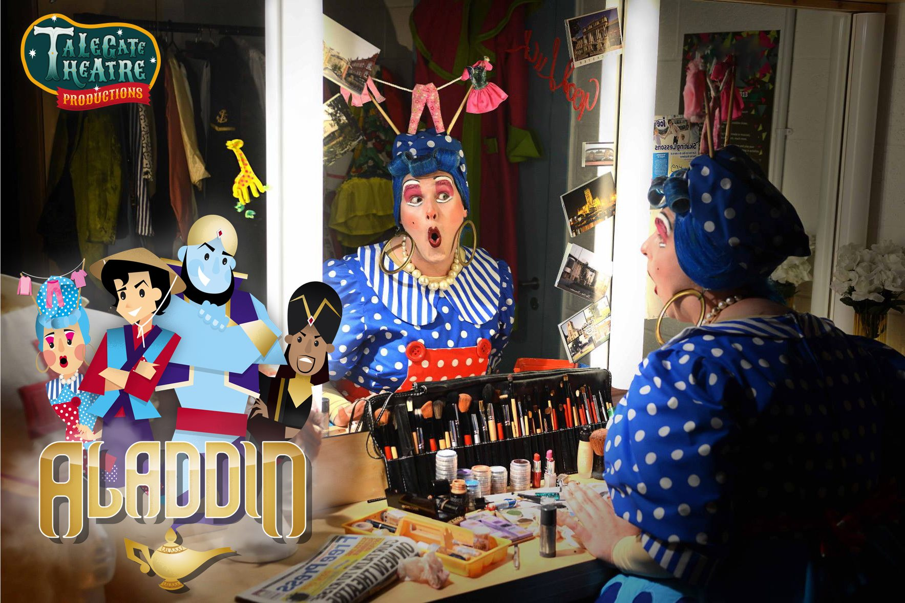 Aladdin Pantomime at Cannon Hall Farm