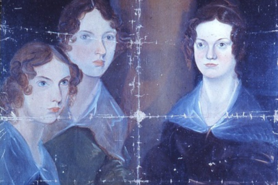 The Bronte Sisters by Branwell Bronte 1729_large