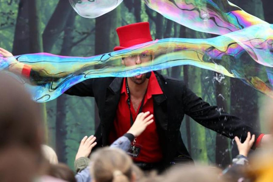 Bubble Wizard at Lightwater Valley - Coming this July
