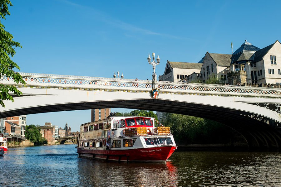 City Cruises York Afternoon Tea Vessel Exterior