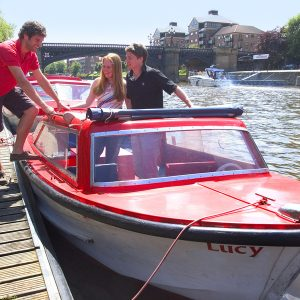City Cruises York Self-Drive Red Boats