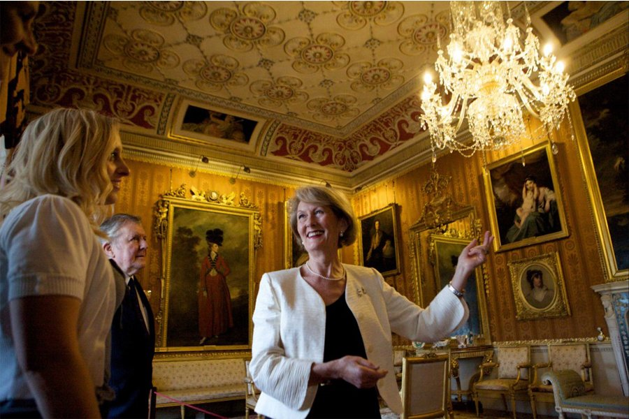 Discovery Talk at Harewood house