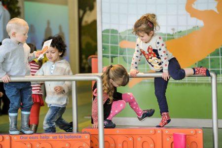 Children playing at Eureka!