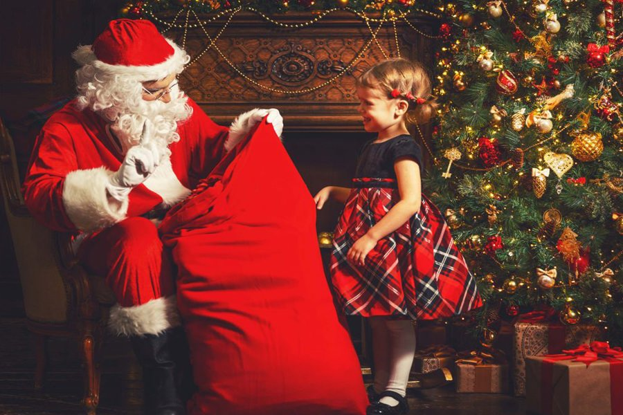 Fireside Father Christmas at Harewood House