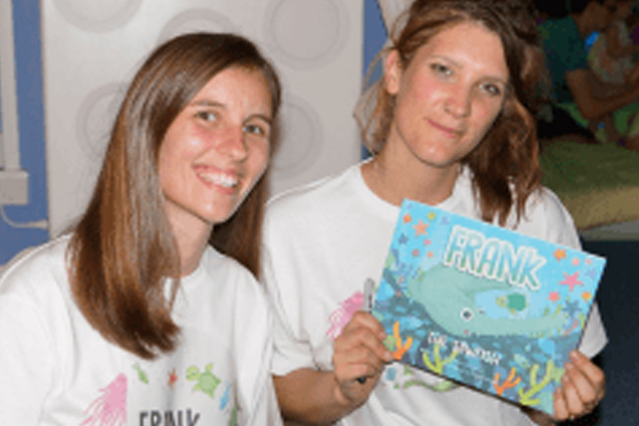 'Frank the Sawfish' Author Book Signing