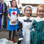 Dressing up at Harewood House