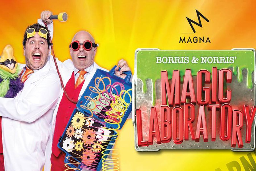 Borris and Norris at Magna
