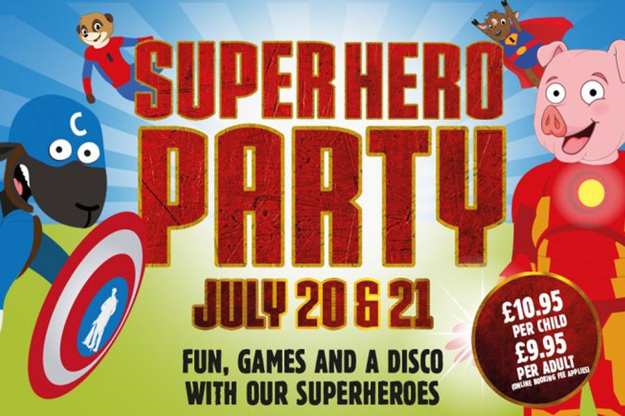 Superhero Party at Cannon Hall Farm