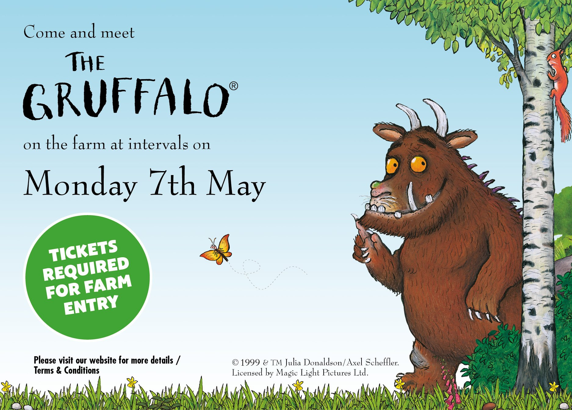 The Gruffalo Event Thornton Hall Farm