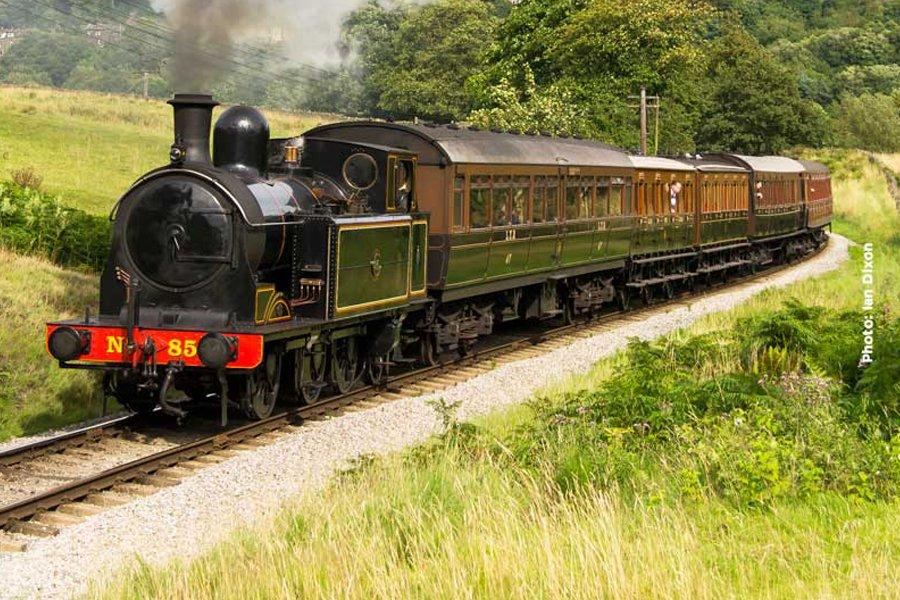 Vintage Trains at KWVR