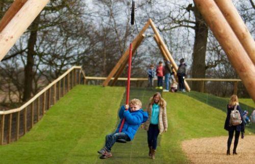Yorkshire Wildlife Park Playgrounds