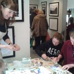 An interactive activity at the Bronte Parsonage Museum