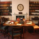 A room at the Bronte Parsonage Museum
