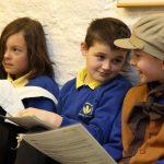 Children enjoying their visit to the Bronte Parsonage Museum