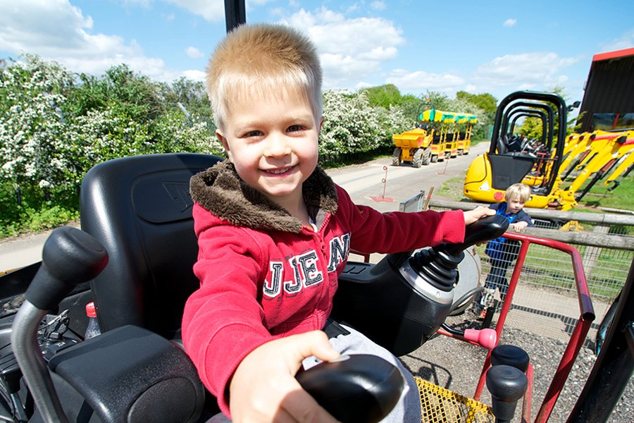 diggerland yorkshire - February Half Term Offer
