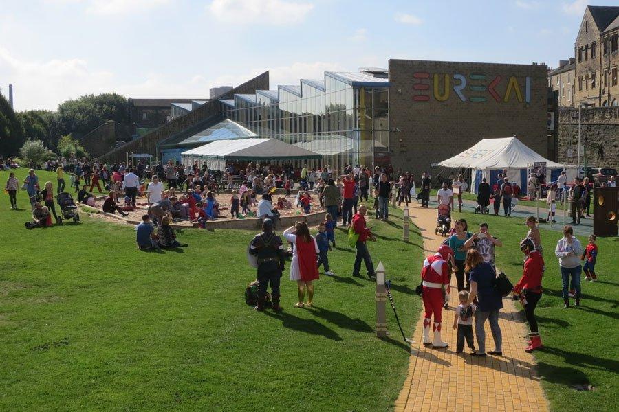 The summer festival at Eureka!