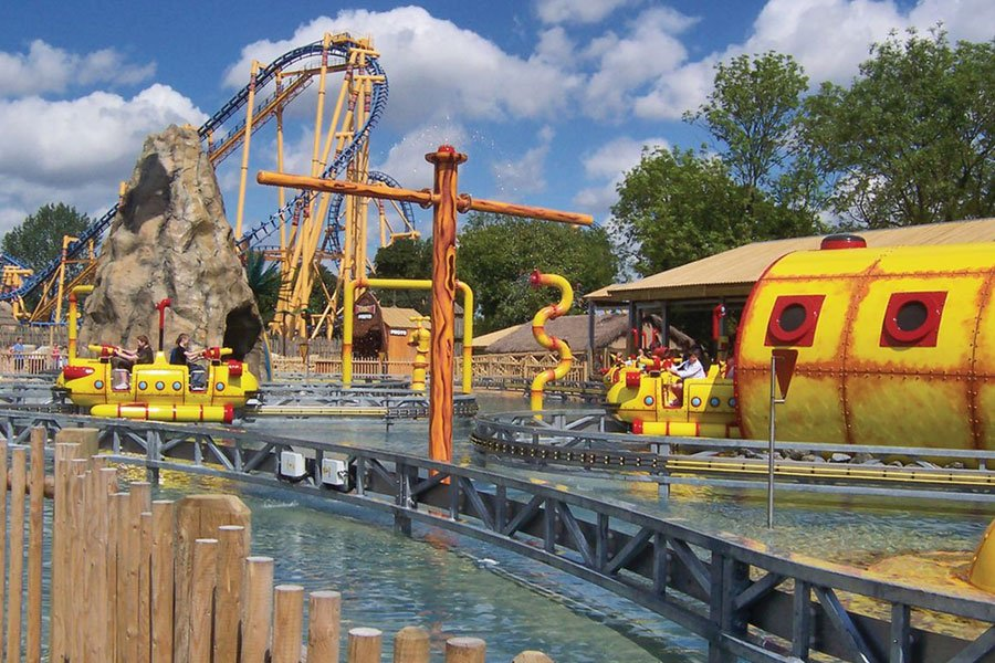Flamingo Land Resort Yorkshire Yorkshire Attractions