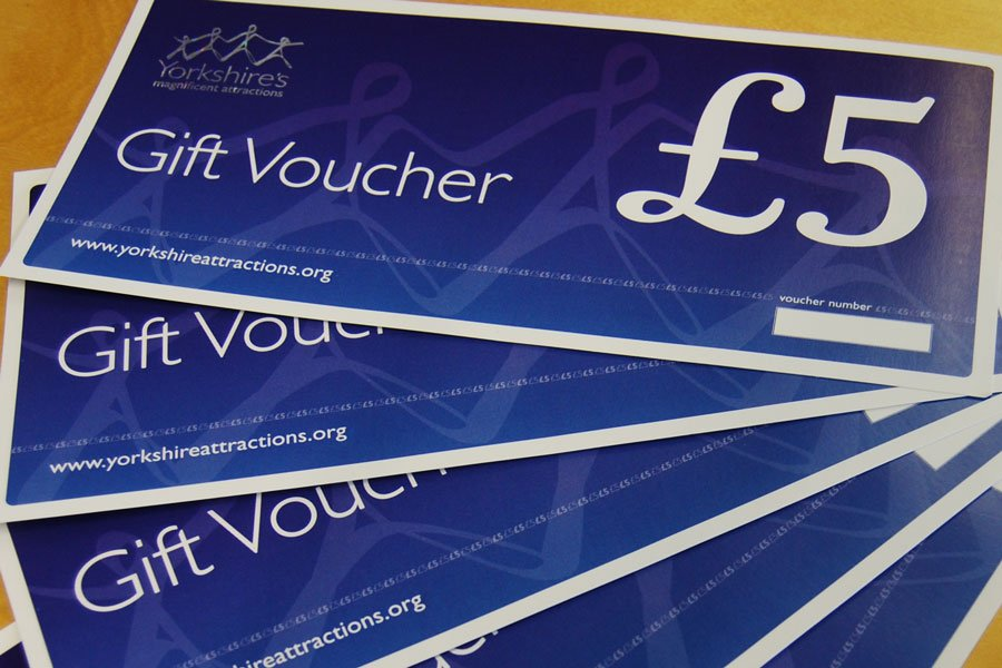Yorkshire Attractions gift vouchers