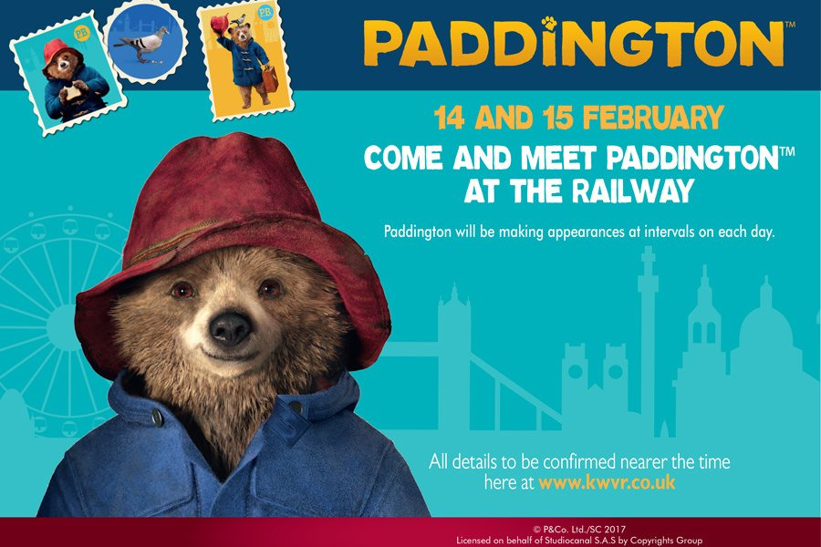 Paddington at KWVR