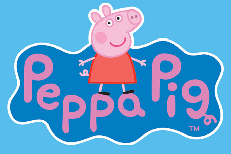 Peppa Pig and George at Flamingo Land