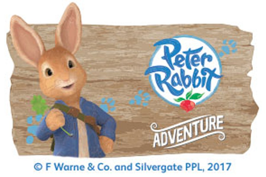Peter Rabbit at Flamingo Land