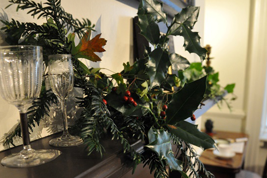 Wreath Making at Bronte Parsonage